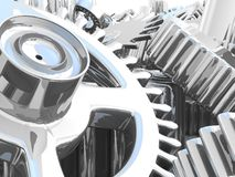 Gears. Work concept. Royalty Free Stock Photo
