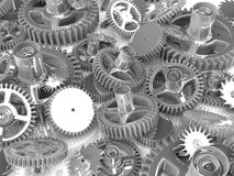 Gears. Work concept. Royalty Free Stock Images