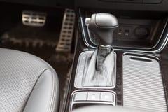 Gearshift dźwignia automatyczny gearbox Fotografia Royalty Free