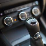 Gearshift w samochodzie Zdjęcie Royalty Free