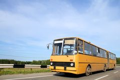 Gearticuleerde bus Royalty-vrije Stock Afbeelding
