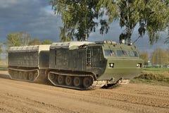 Gearticuleerde Vrachtwagen Royalty-vrije Stock Afbeeldingen