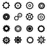 Gearwheel μηχανισμός Στοκ εικόνες με δικαίωμα ελεύθερης χρήσης