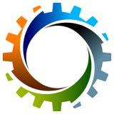 gearwheel στρόβιλος Στοκ εικόνες με δικαίωμα ελεύθερης χρήσης