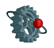 Gearwheel Royalty Free Stock Photography