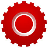 Gearwheel, gear icon. Settings, configuration, developement, pro. Gress-process concept icon  - Royalty free vector illustration Stock Photos