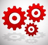 Gearwheel, rack wheel, gear icon, sign. Service, development, ma Stock Photos