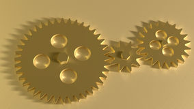 Gearwheels Royalty Free Stock Images