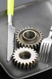 gearwheels talerz Obraz Royalty Free