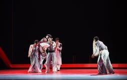 "Geassembleerd als kraai-dans drama""Mei Lanfang† Stock Fotografie"