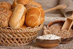 Geassorteerd brood Stock Afbeeldingen