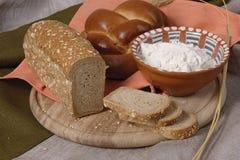 Geassorteerd brood royalty-vrije stock foto's