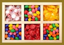 Geassorteerd kleurrijk suikergoed royalty-vrije stock afbeeldingen