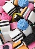 Geassorteerd suikergoed Stock Afbeeldingen