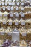 Geassorteerde Braziliaanse noten royalty-vrije stock afbeelding