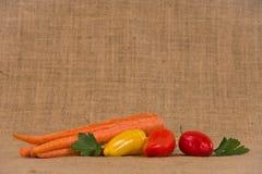 Geassorteerde groenten Stock Foto