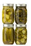Geassorteerde groenten in het zuur Stock Foto