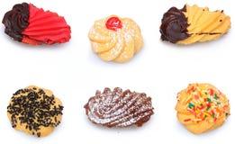 Geassorteerde Italiaanse Koekjes Biscotti Stock Foto