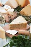 Geassorteerde kaas Stock Fotografie