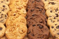 Geassorteerde koekjes Stock Afbeeldingen