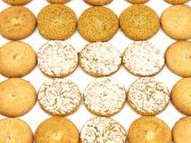 Geassorteerde koekjes Royalty-vrije Stock Fotografie