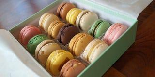Geassorteerde Macarons Stock Afbeelding
