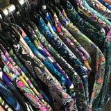 Geassorteerde men's overhemden Stock Foto