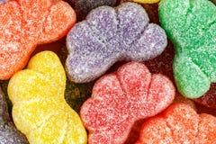 Geassorteerde multicolored fruitplakken Royalty-vrije Stock Foto's