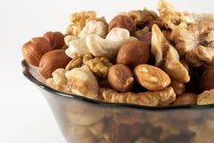 GEASSORTEERDE NUTS Royalty-vrije Stock Afbeeldingen
