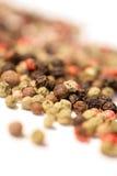 Geassorteerde peperbollen Stock Foto
