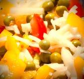 Geassorteerde salade Stock Afbeeldingen