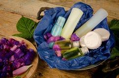 Geassorteerde schoonheidsmiddelen stock afbeelding