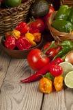 geassorteerde soorten groenten Stock Foto