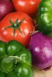 Geassorteerde veggies Stock Fotografie
