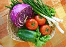 Geassorteerde veggies royalty-vrije stock foto's