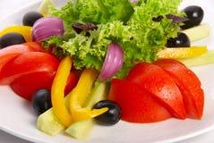 Geassorteerde verse groenten Stock Fotografie