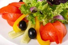 Geassorteerde verse groenten Royalty-vrije Stock Afbeeldingen