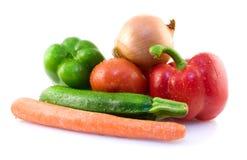 Geassorteerde verse groenten royalty-vrije stock foto