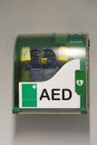 Geautomatiseerde externe defibrillator Royalty-vrije Stock Fotografie