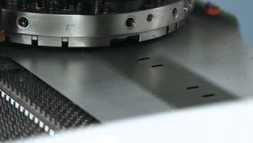 Geautomatiseerde machine Metallurgische productie stock footage
