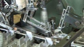 Geautomatiseerde productie van geneesmiddelen E stock video
