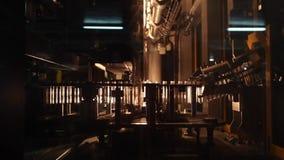 Geautomatiseerde productielijn stock videobeelden