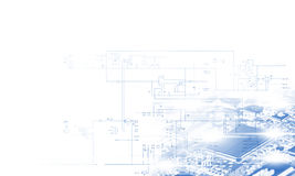 Geavanceerd technisch concept Stock Fotografie
