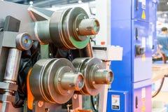 Geavanceerd technisch en buigende machine van de van de precisie de semi automatische pijp of buis voor industrieel stock afbeeldingen