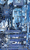Geavanceerd technische achtergrond royalty-vrije stock foto