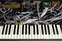 Geavanceerde geopende synthesizer royalty-vrije stock afbeeldingen