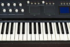 Geavanceerde synthesizer stock fotografie