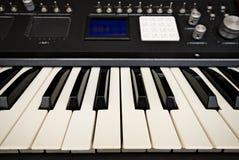Geavanceerde synthesizer royalty-vrije stock afbeeldingen
