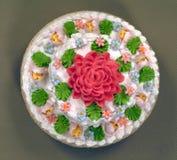 Gebäck, Kuchen, geschmackvoll, süß stockbild