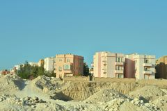 Gebäude in Ägypten lizenzfreie stockbilder